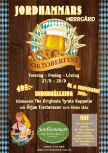 Oktoberfest @ Jordhammars Herrgård | Sverige